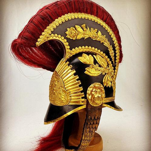1850's Madras Horse Artillery Officers Helmet