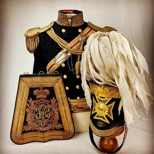 Crimean 4th Light Dragoons Uniform - Major Alexander lowe