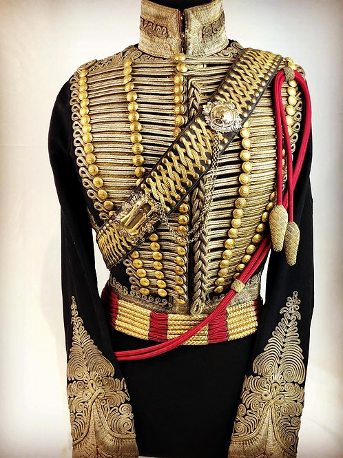 1850 Bombay Horse Artillery Officers Uniform