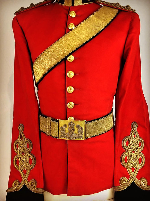 Victorian Royal Dragoons Officers Uniform