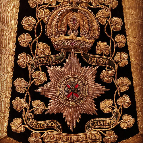 4th Royal Irish Dragoon Guards Sabretache