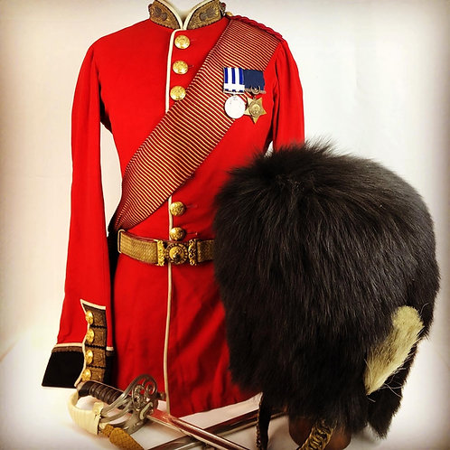 Victorian Grenadier Guards Uniforms - Captain & Adjut Alexander Fownes Luttrell