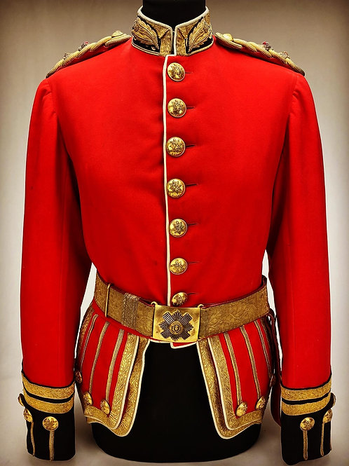Victorian Field Officers Uniform to the Royal Scots