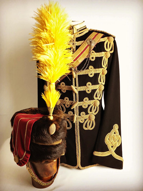 Victorian 20th Hussars Officers Uniform