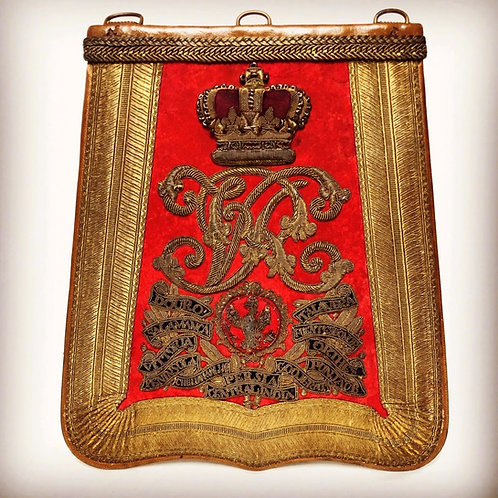Victorian 14th Kings Hussars Officers Sabretache