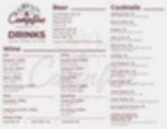 Campfire - Drink menu FINAL - OUTLINE -