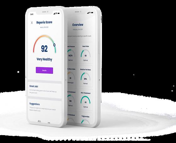 Reperio Health Score