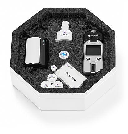 Reperio Health Kit open