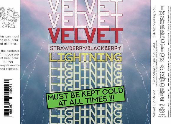 Velvet Lightning Strawberry/Blackberry