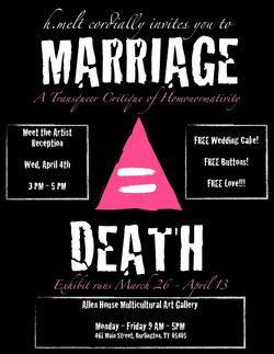 Marriage = Death
