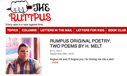 Two New Poems in The Rumpus