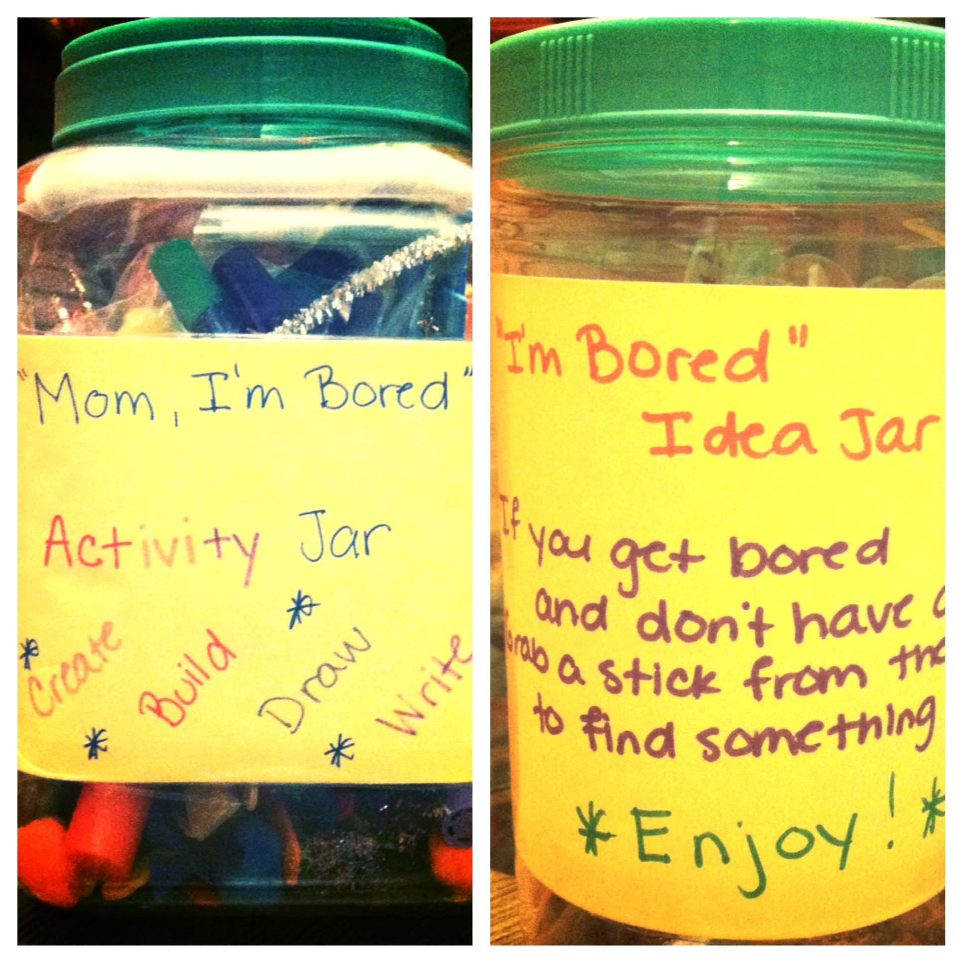 The I M Bored Jar