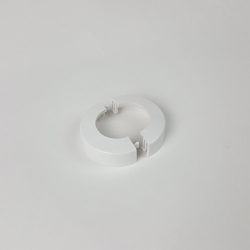 "Snap-Tite Escutcheon  1-3/8"" (White)"