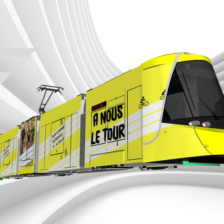 Rames CAF pelliculées #3: Rame du Tour de France