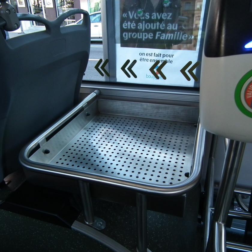 Trolleybus IMC Solaris Trollino Saint-Etienne plateforme