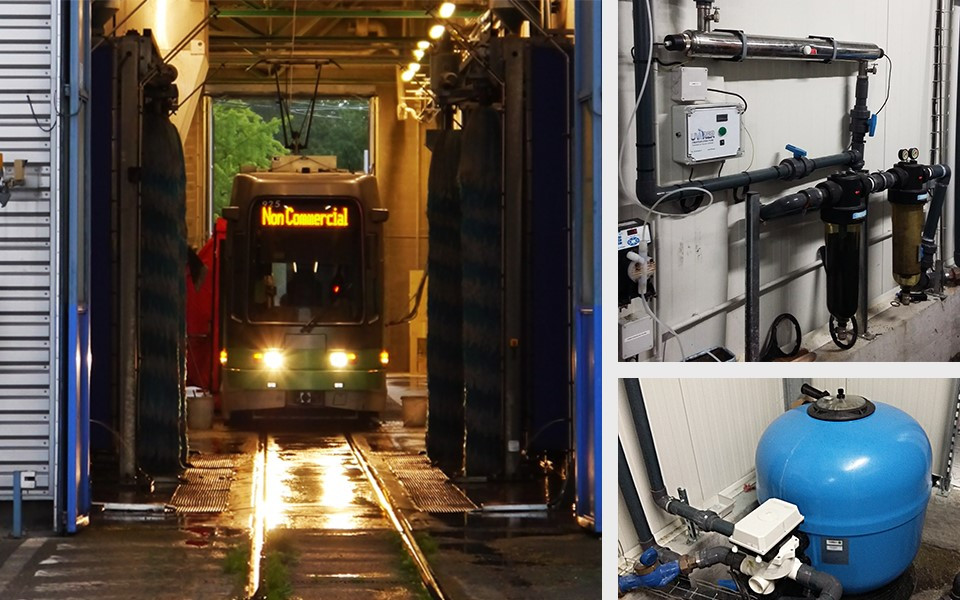 tram STAS lavage Alsthom Vevey Duwag