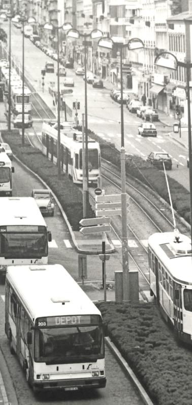 Alsthom Vevey Duwag et PCC, bus et trolleybus