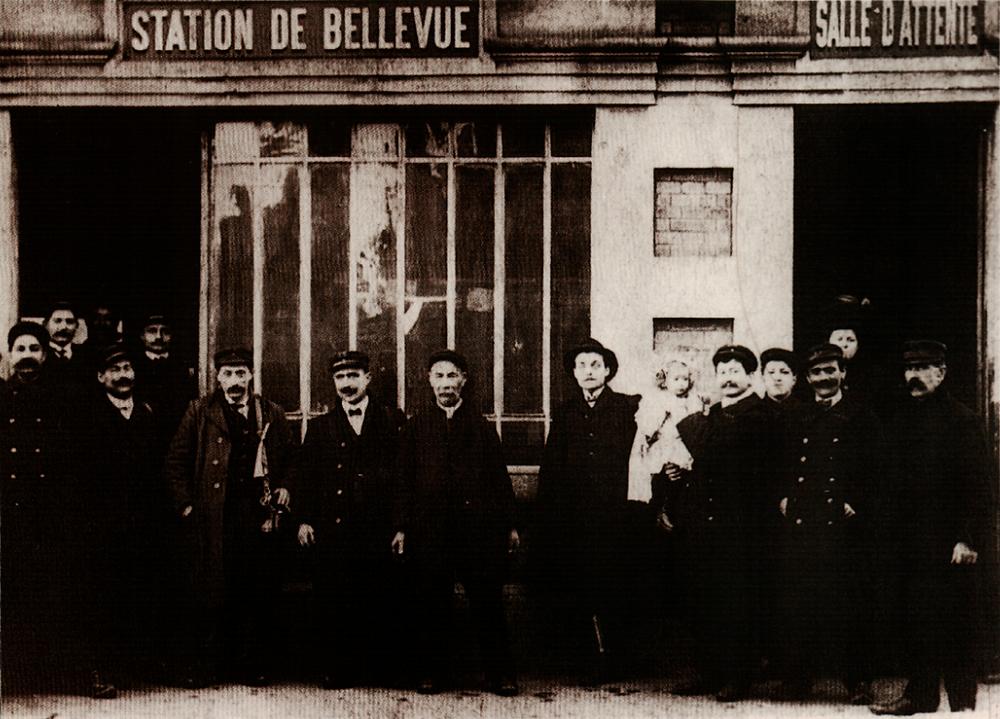 dépôt de bellevue STAS C.F.V.E., personnel du réseau de transport