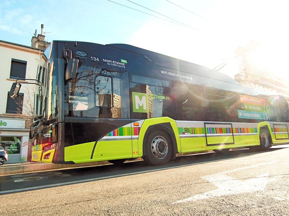 Trolleybus IMC Solaris Trollino Saint-Etienne emperchage emperchoir