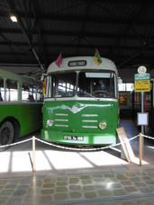 Véhicules musée des transports urbains saint etienne
