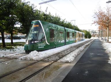 Tramway la T3 vous emmène