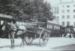Saint-Etienne tram et hippomobile