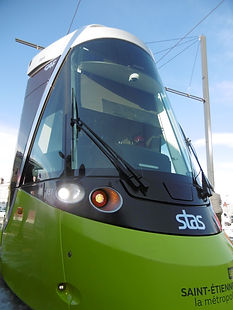 Tramway CAF Saint-Etienne inauguration ligne de tramway