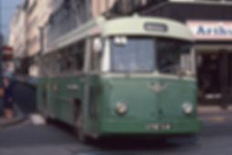 Ancien trolley saint-etienne