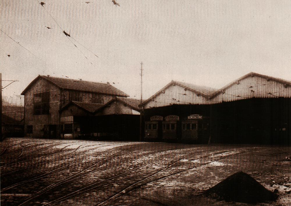 dépôt CFVE STAS Saint CHamond 1925