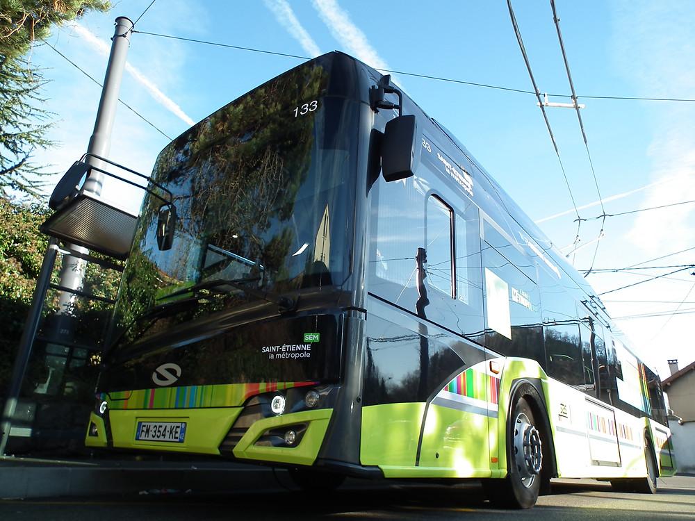 Trolleybus IMC Solaris Trollino Saint-Etienne