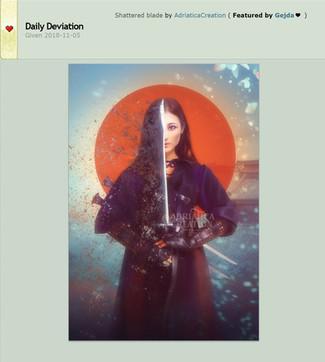 Deviant Art Daily Deviation