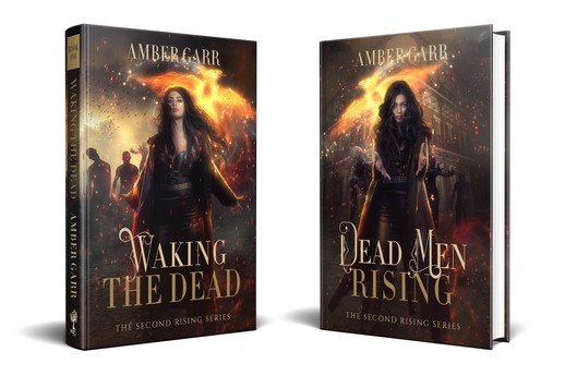 The Second Rising Series, author Amber Garr