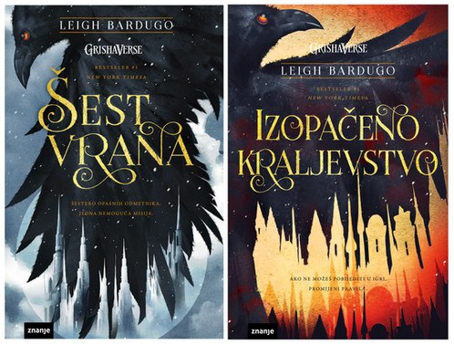 Six of Crows & Crooked Kingdom by Leigh Bardugo