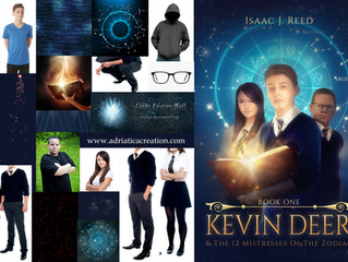 """""""Kevin Deer"""" (book 1) before and after"""
