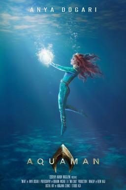 """""""Mera"""" Aquaman Poster"""