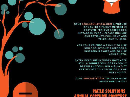 Smile Solutions Annual Patient Costume Contest!