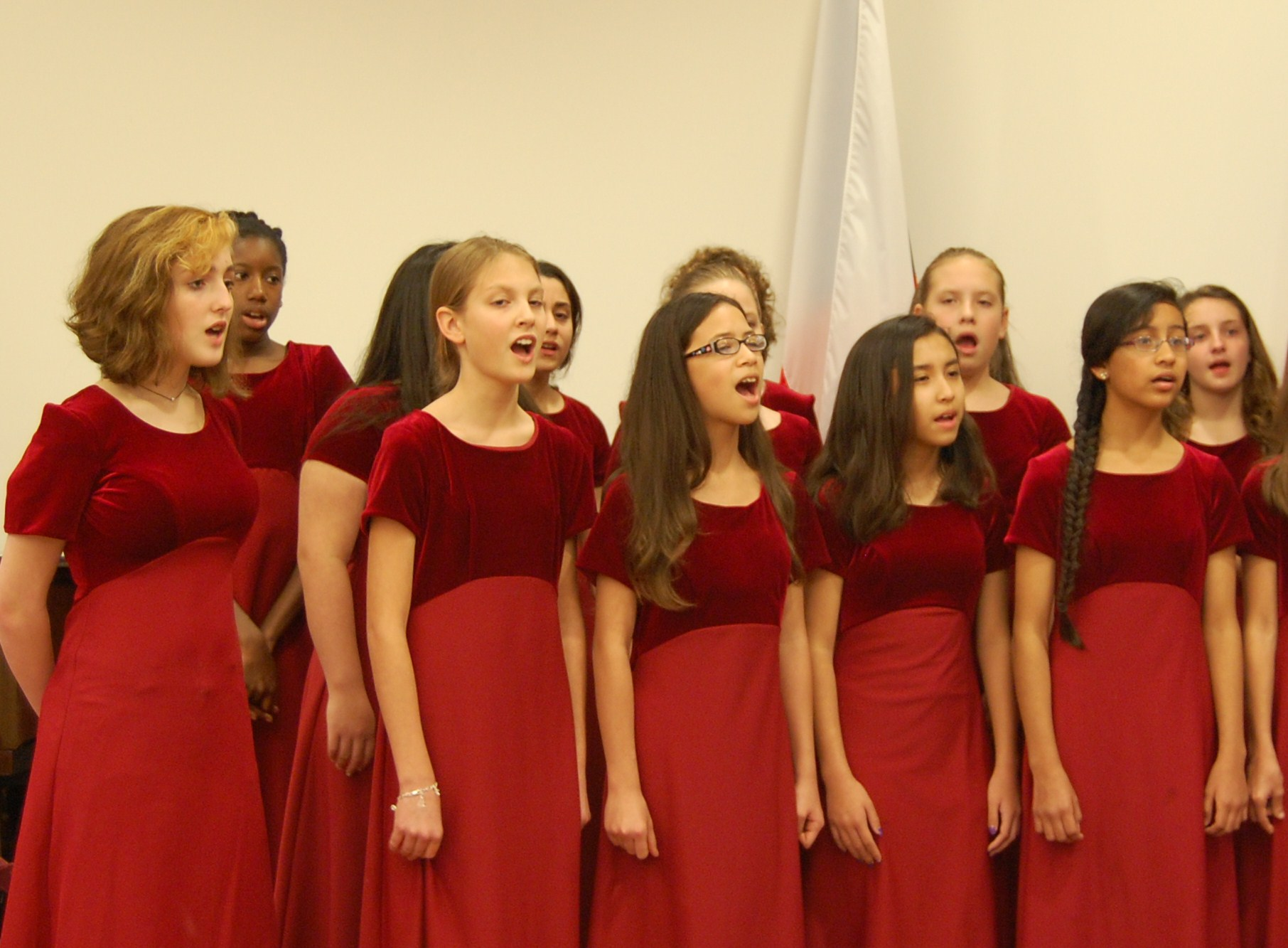 SINGING AT THE CZECH CENTER