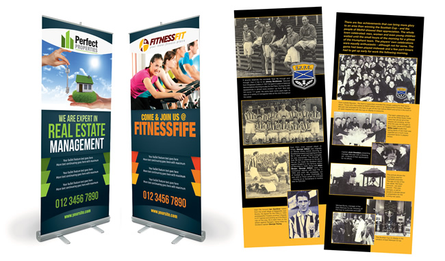 Levenmouth Roller Banners