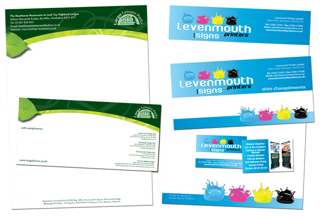 Levenmouth Business Stationery
