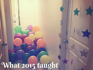 What 2015 taught me about Parenting...