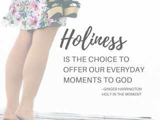 Holy in the Moment- Book Launch