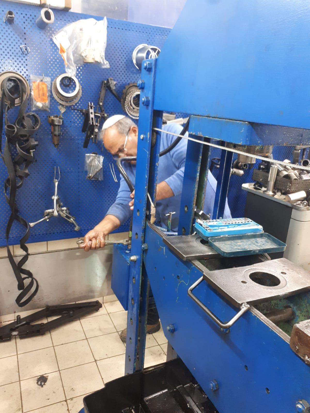 אחזקה שוטפת וחלפים למכאניקה תעשייתית