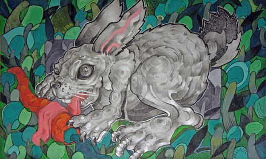 Mr Greedy Bunny