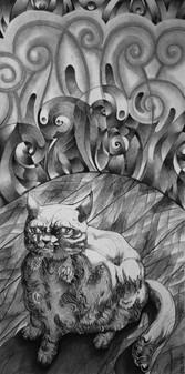 Fat Cat Fur Ball