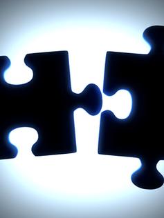 2 Puzzle Pieces