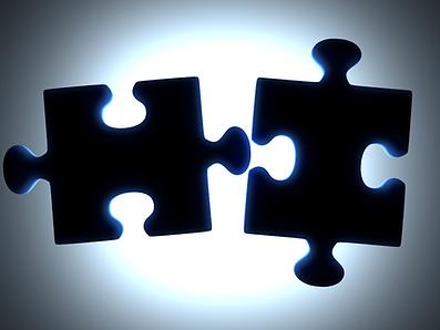 2 parti di puzzle