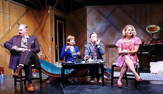 PRIVATE LIVES BY NOEL COWARD DIRECTED BY