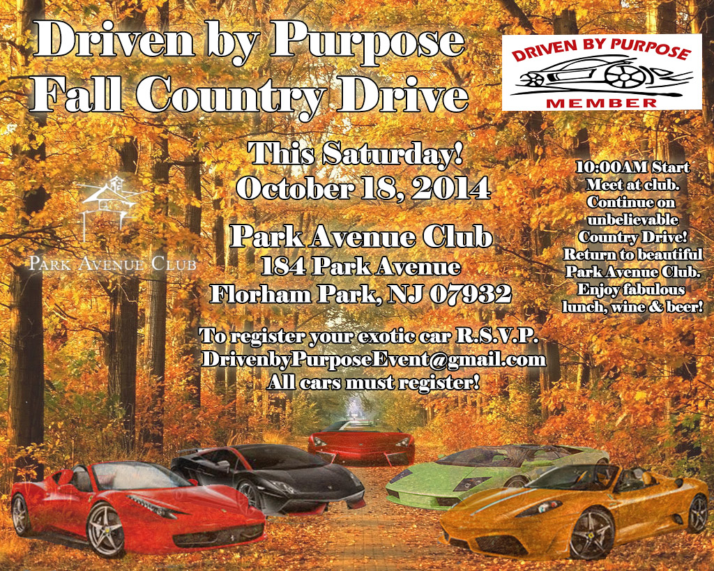 Driven by Purpose Fall Drive