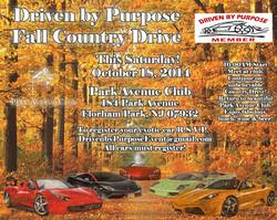 Driven by Purpose Fall Drive