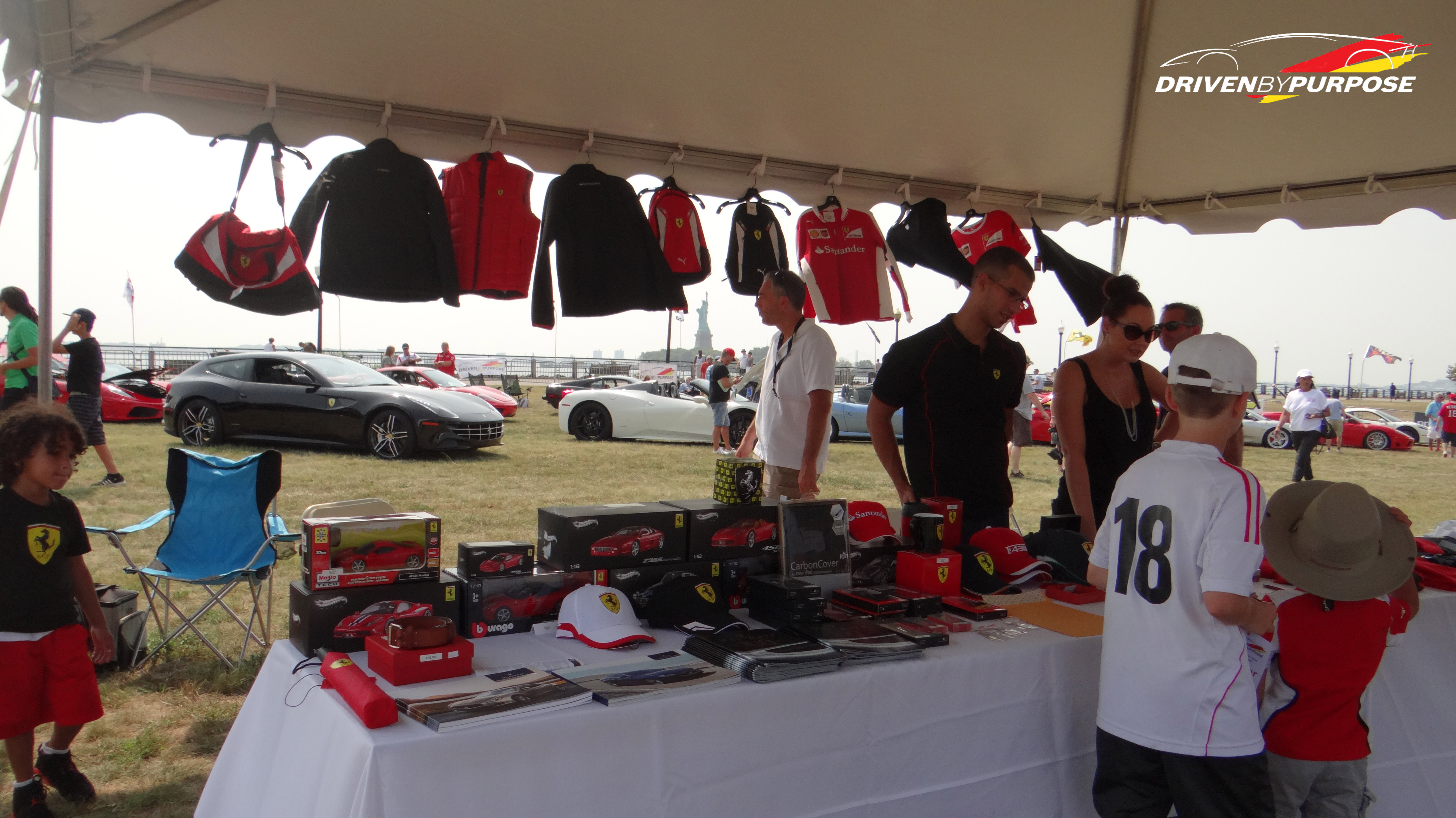 Driven by Purpose, Ferrari Merch